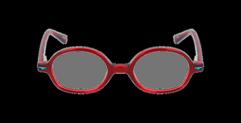 Lunettes de vue enfant SEA rouge - Vue de face