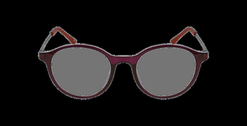 Lunettes de vue femme MAGIC 37 BLUEBLOCK violet - Vue de face