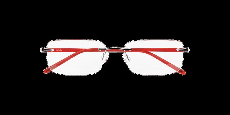 Lunettes de vue homme LIGHT TONIC gris/rouge