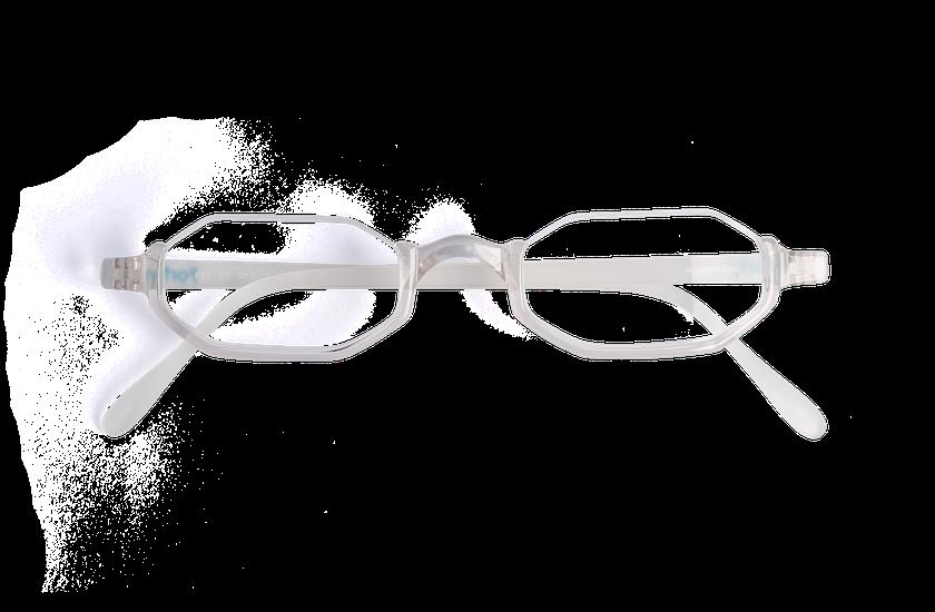 Lunettes de vue AFFLELOU FORTY cristal - danio.store.product.image_view_face
