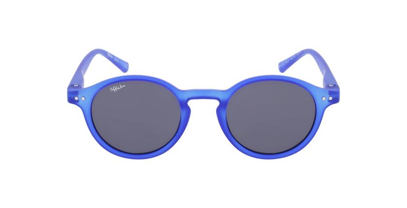 Lunettes de soleil enfant LIO bleu - Vue de face