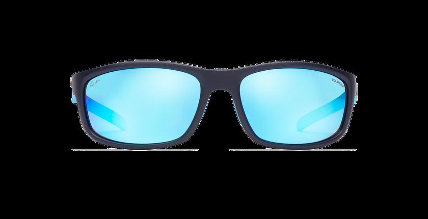 Lunettes de soleil homme DUNDEE bleu - Vue de face