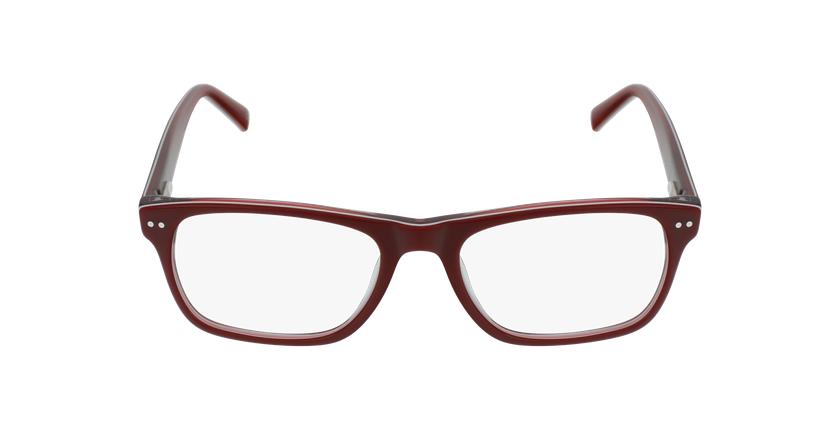 Lunettes de vue enfant TED rouge/blanc - Vue de face