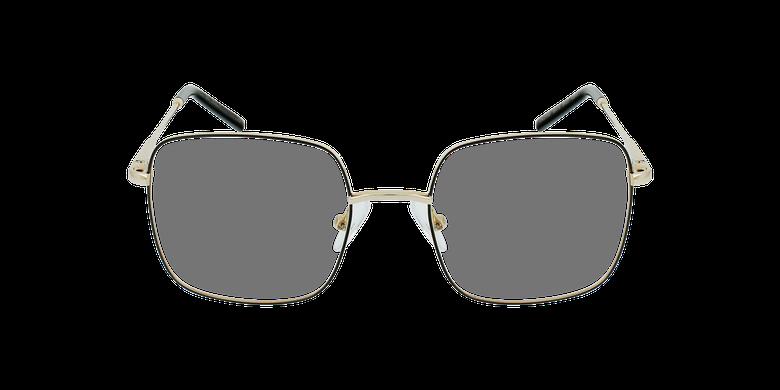 Lunettes de vue enfant STELLA noir/doréVue de face