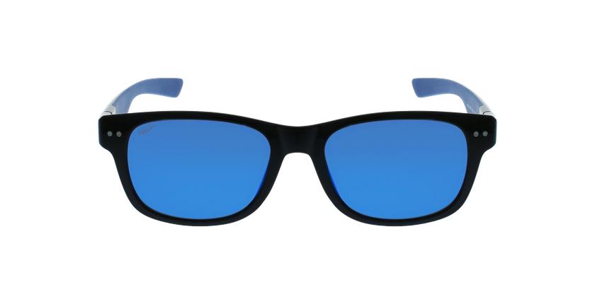 Lunettes de soleil homme FLORENT POLARIZED noir/bleu - Vue de face