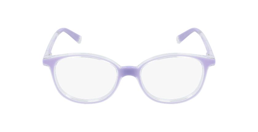 Lunettes de vue enfant RFOM1 violet - Vue de face