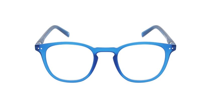 Lunettes de vue BLUE BLOCK 1 MIXTE bleu - Vue de face