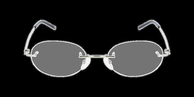 Lunettes de vue femme IDEALE-25 doré/noirVue de face