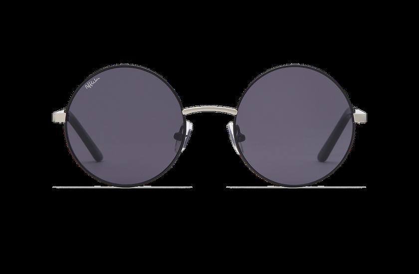 Lunettes de soleil femme HOLA noir/argenté - danio.store.product.image_view_face