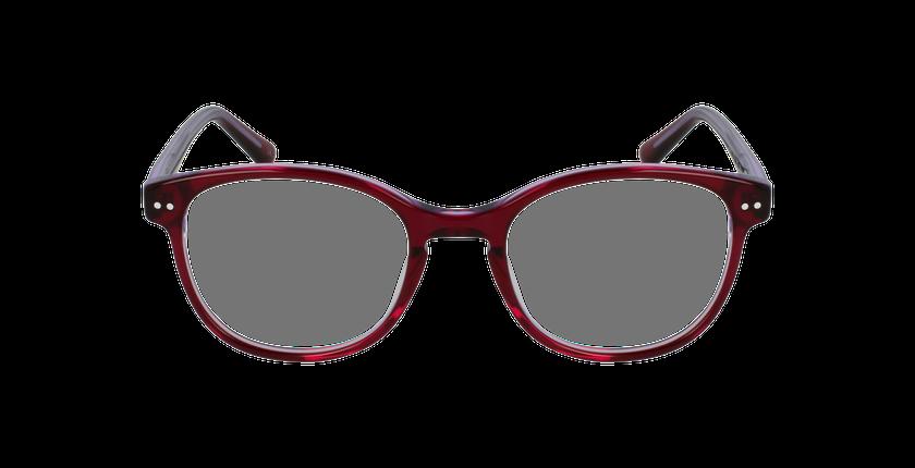 Lunettes de vue enfant TESS rose/violet - Vue de face