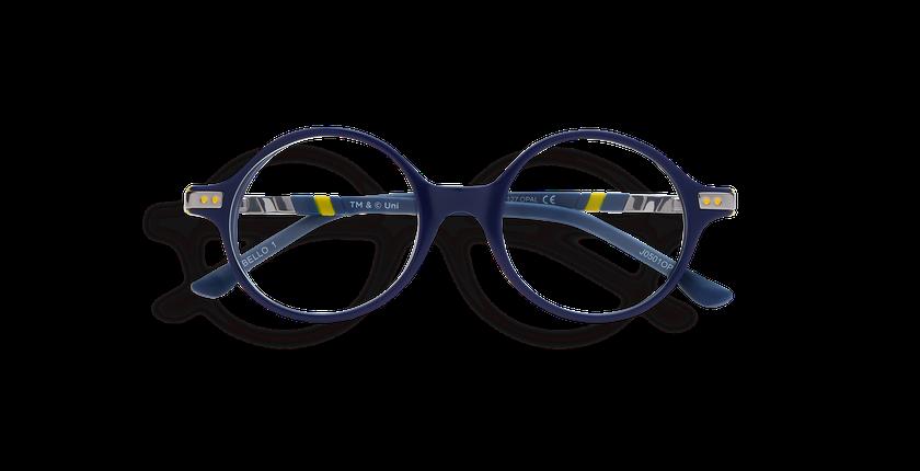 Lunettes de vue enfant BELLO1 bleu/jaune - Vue de face