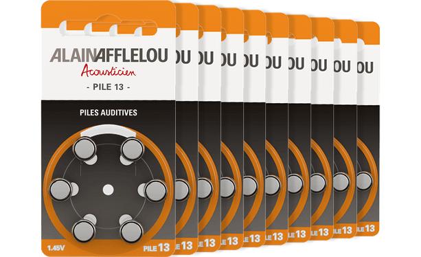 Lot de 60 piles 13 - Couleur orange