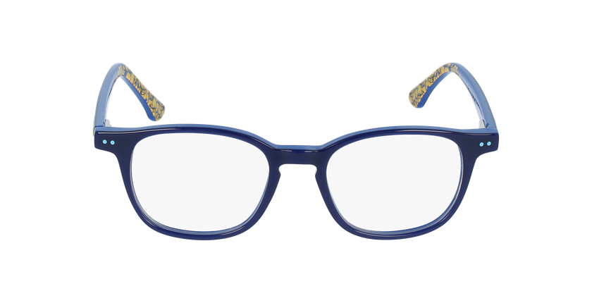 Lunettes de vue enfant BANANAMASTE bleu - Vue de face