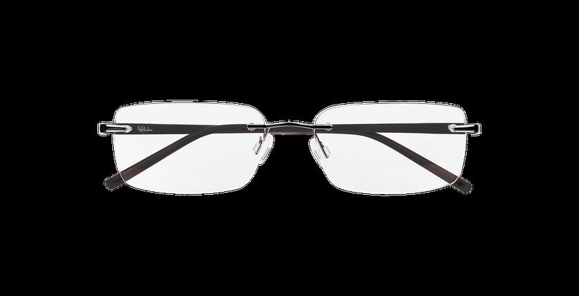 Lunettes de vue homme LIGHT TONIC argenté - Vue de face