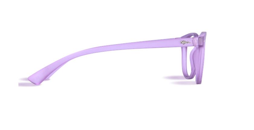 Lunettes de vue BLUE BLOCK MIXTE violet - Vue de côté