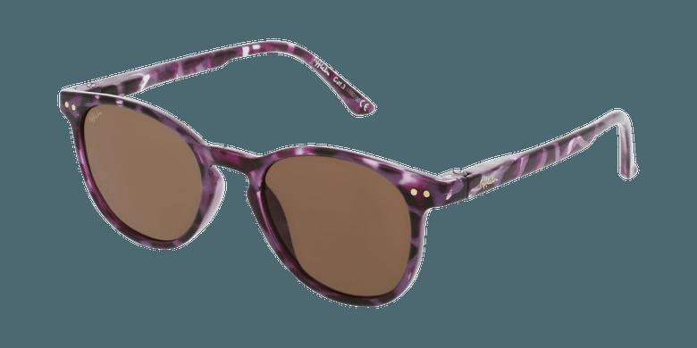 Lunettes de soleil enfant FELIZ écaille/violet