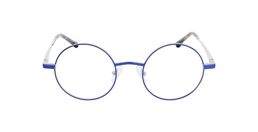 Lunettes de vue MAGIC 96 bleu/argenté - Vue de face