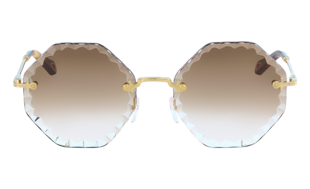 Lunettes de soleil femme CE143S doré/marron - danio.store.product.image_view_face