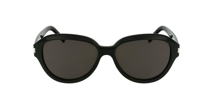 Lunettes de soleil femme SL 400 noir - Vue de face