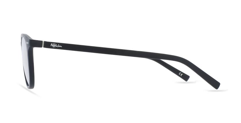 Lunettes de vue FORTY anti-lumière bleue Noire noir/noir - Vue de côté