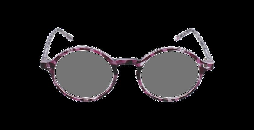 Lunettes de vue enfant RZERO23 écaille/violet - Vue de face