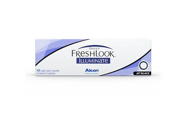 Lentilles de contact Dailies FreshLook Illuminate 10L - Vue de face