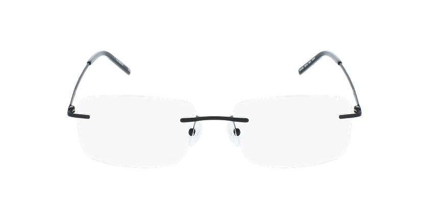 Lunettes de vue homme IDEALE-23 noir - Vue de face