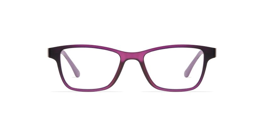 Lunettes de vue femme MAGIC 04 violet/violet frozen - Vue de face