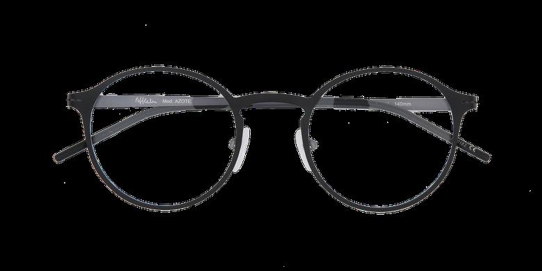 Lunettes de vue homme AZOTE noir/gris