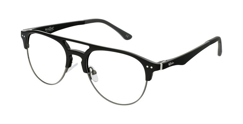 Lunettes de vue homme MAGIC 91 noir/gris - vue de 3/4