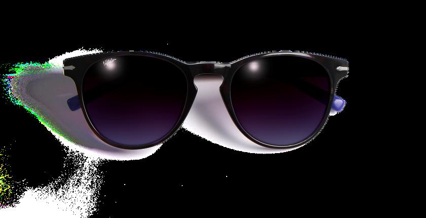 Lunettes de soleil femme ATHENA violet - Vue de face