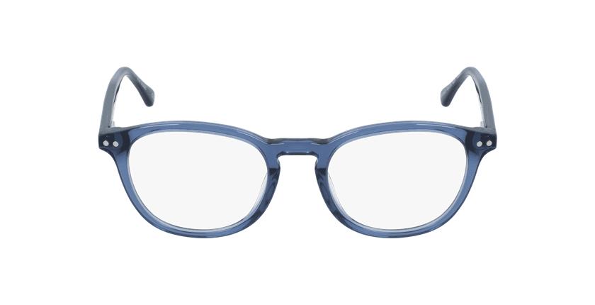 Lunettes de vue femme OAF20523 bleu - Vue de face
