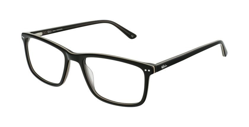 Lunettes de vue homme GWENDAL noir/gris - vue de 3/4