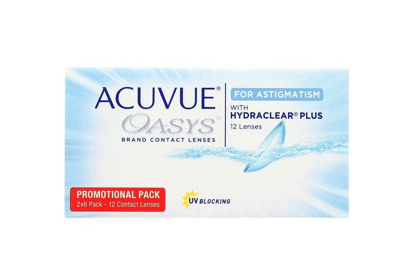 5d7f05ed83894 Lentilles de contact Acuvue® Oasys® for Astigmatism 12L - Vue de face ...