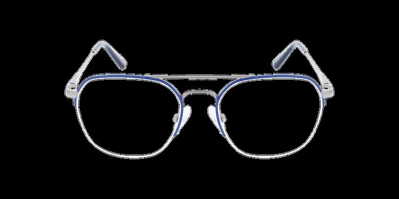 Lunettes de vue homme WILLY bleu/grisVue de face