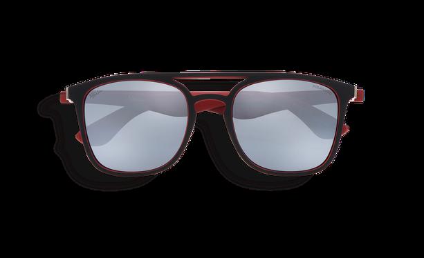 Lunettes de soleil OSTUNI POLARIZED noir/rouge - danio.store.product.image_view_face