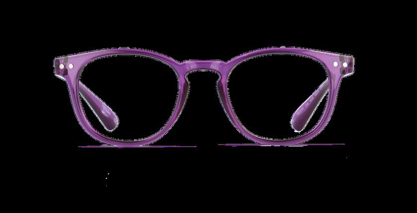 Lunettes de vue homme BLUE BLOCK HOMME violet - Vue de face