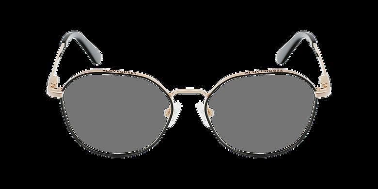 Lunettes de vue femme GU2724 noirVue de face