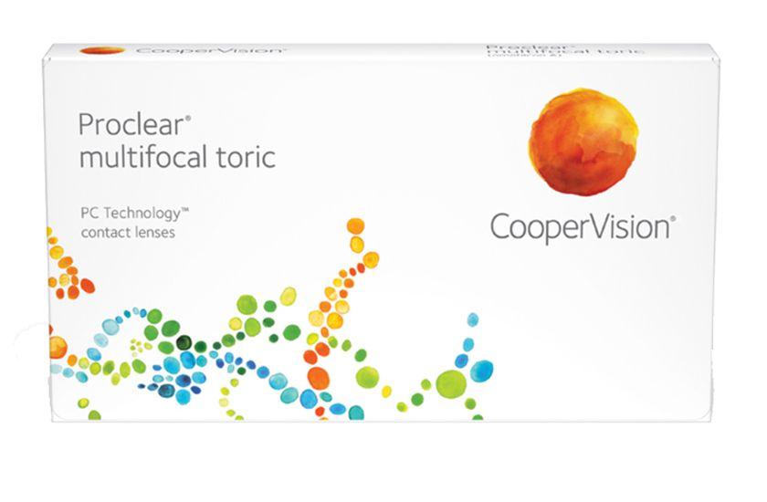 Lentilles de contact Proclear® Multifocal Toric 3L - Vue de face