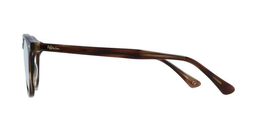 Lunettes de vue femme OAF20523 écaille - Vue de côté