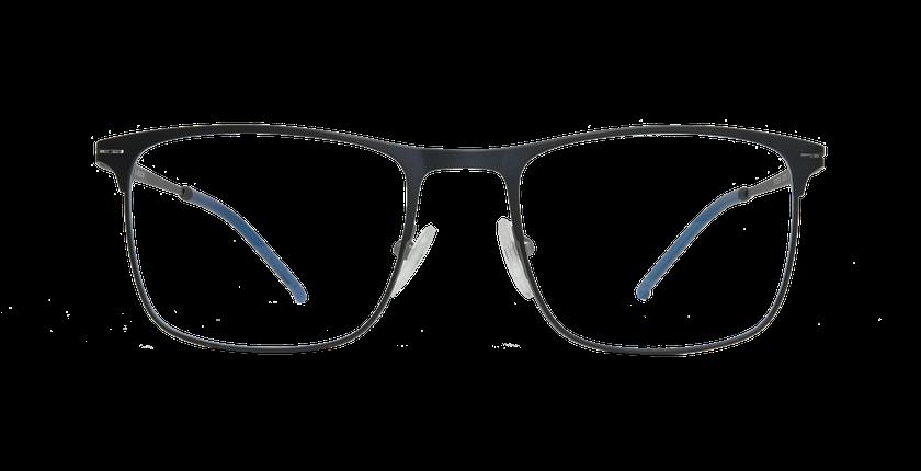 Lunettes de vue homme HELIUM bleu - Vue de face