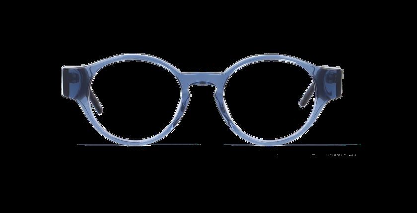 Lunettes de vue femme MILA bleu - Vue de face