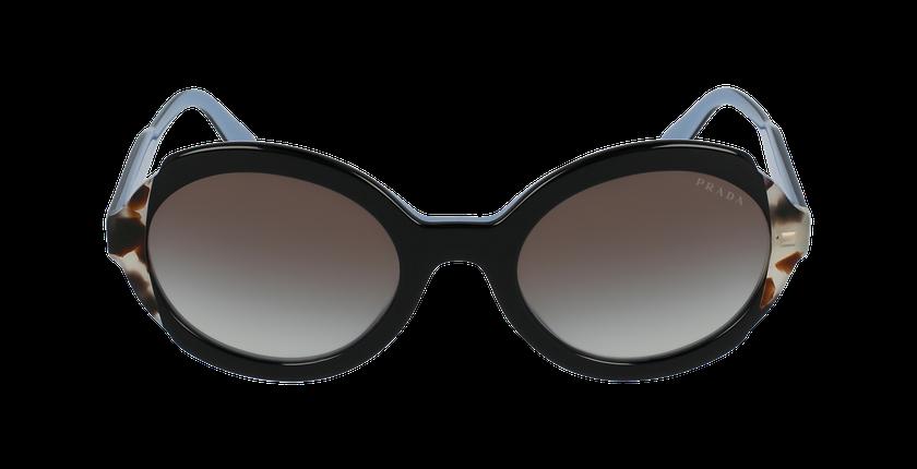 Lunettes de soleil femme HERITAGE noir/écaille - Vue de face