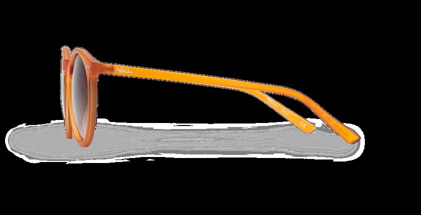 Lunettes de soleil ALTEA orange - Vue de côté