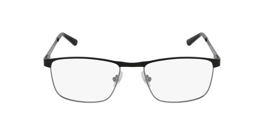 Lunettes de vue homme GUIDO noir/gris - Vue de face