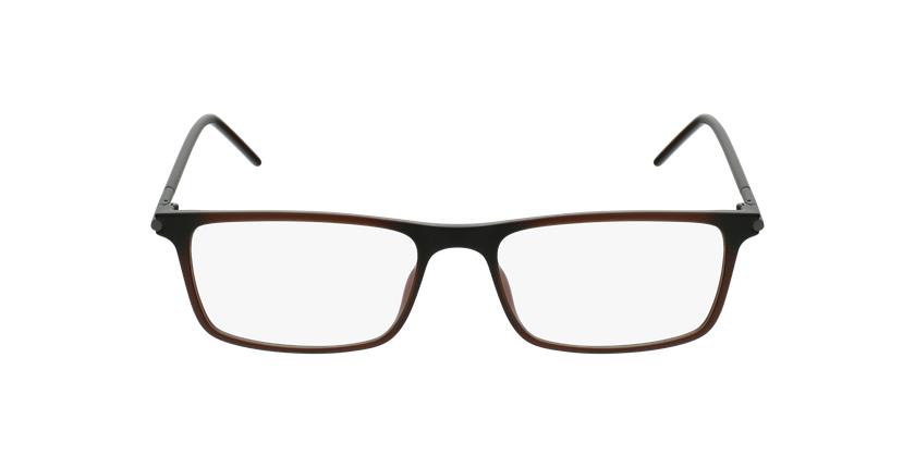 Lunettes de vue homme MAGIC 72 marron - Vue de face