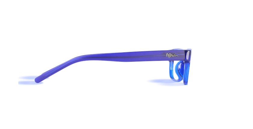 Lunettes de vue enfant ENZO bleu - Vue de côté