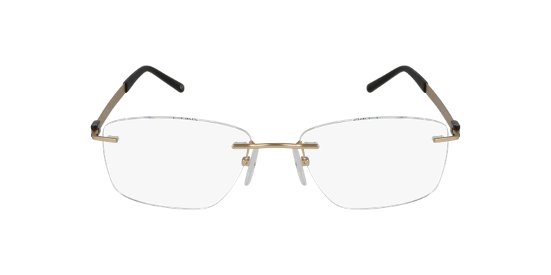 Lunettes de vue homme IDEALE-03 doré/marron