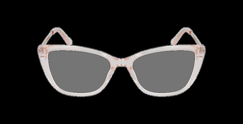 Lunettes de vue femme ALOISE rose - Vue de face