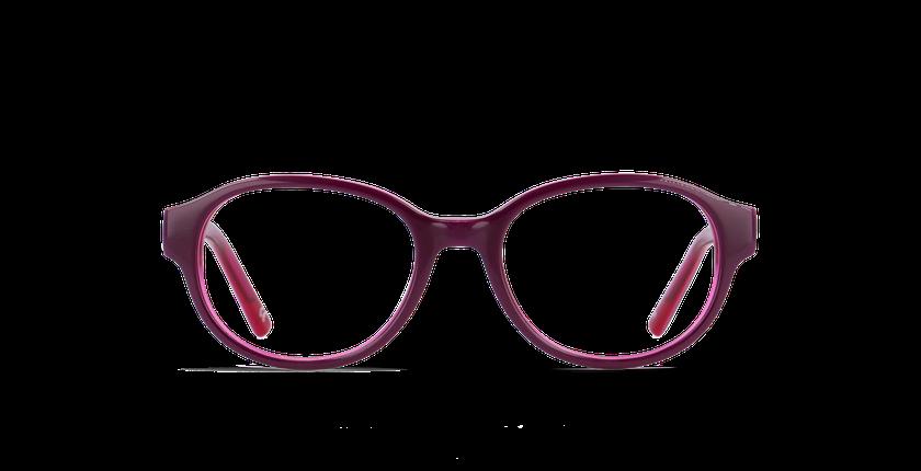 Lunettes de vue enfant GWEN violet - Vue de face